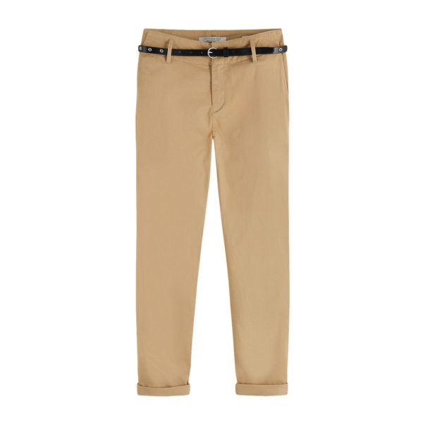 MAISON SCOTCH CHINOS PANTS 156347-0137 BEIGE