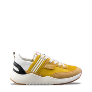 FRANKLIN MARSHALL SHOES FFIE0003L-0319 YELLOW WHITE