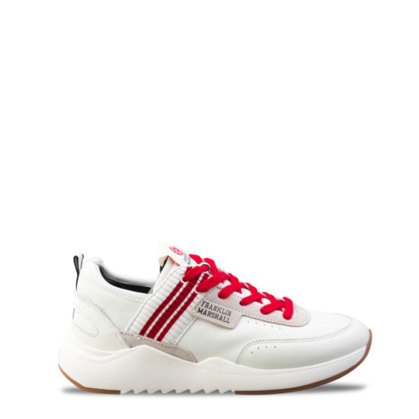 FRANKLIN MARSHALL SHOES FFIE0004L-2869 WHITE RED