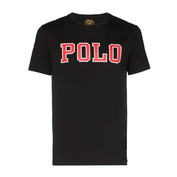 RALPH LAUREN T-SHIRT 710766946001-BLACK