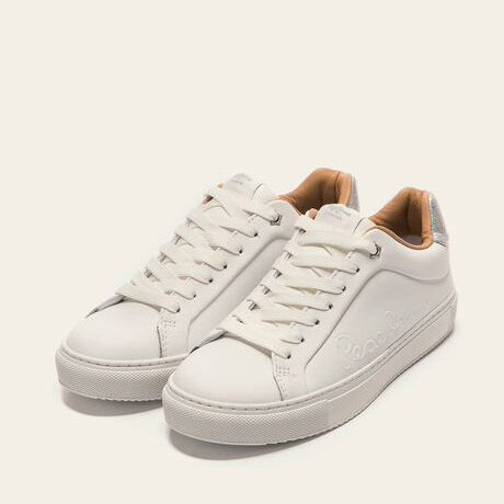 PEPE JEANS SNEAKERS PLS30960-800 WHITE