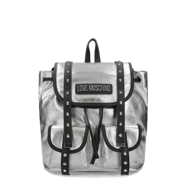 MOSCHINO LOVE BACKPACK JC4078PP1ALL190A SILVER