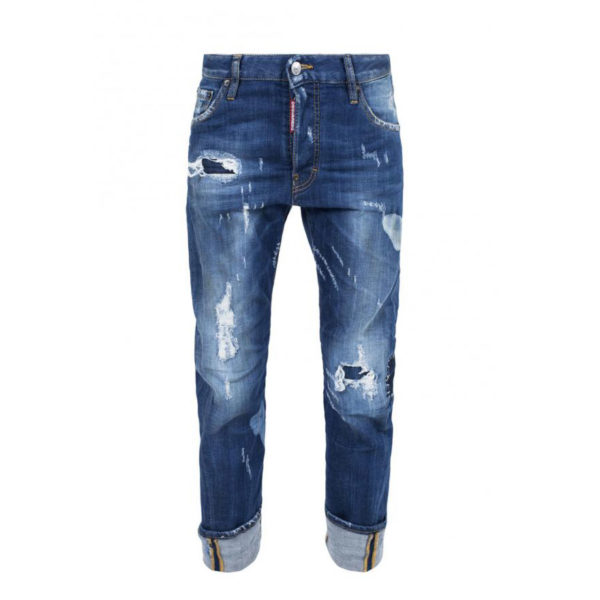 DSQUARED2 WORK WEAR JEAN S72LA0894 S30342 470-DENIM
