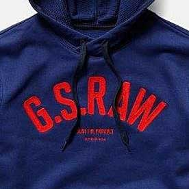 G-STAR GRAPHIC 14 CORE SWEATER D14728-A612-1305-IMPERIAL BLUE