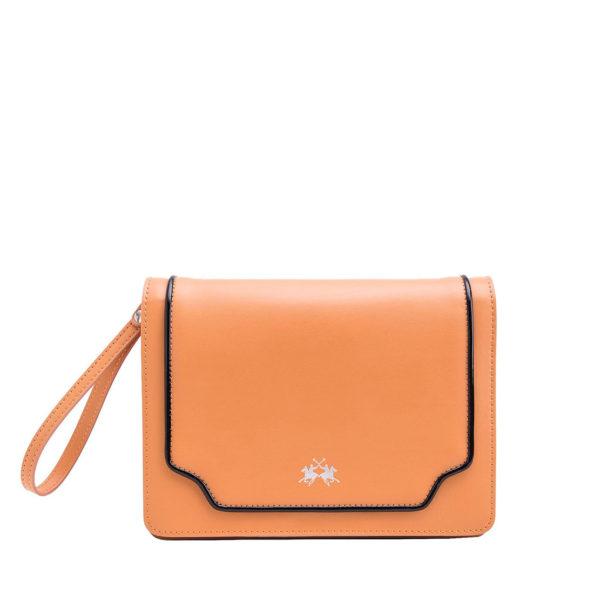 LA MARTINA WOMAN SHOULDER BAG BONAERENSE 41W113 L0040 02132-APRICOT TAN