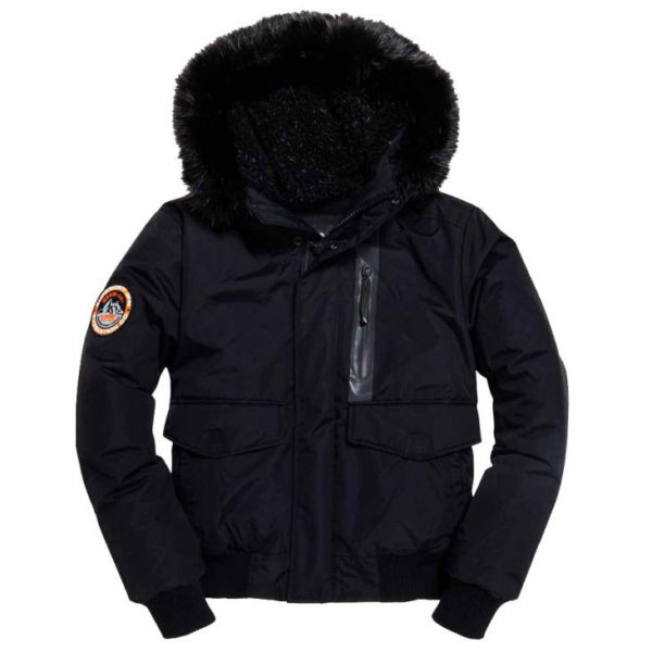 SUPERDRY EVEREST BOMBER M5000039A 12A-BLACK