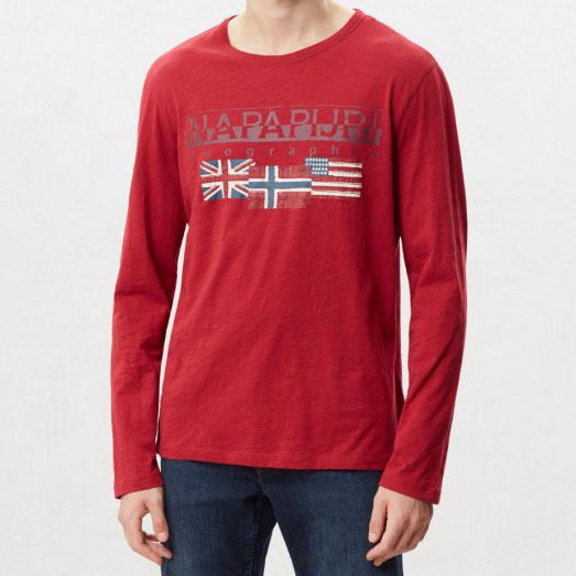 NAPAPIJRI SCOTT T-SHIRT N0YITY R01-RED