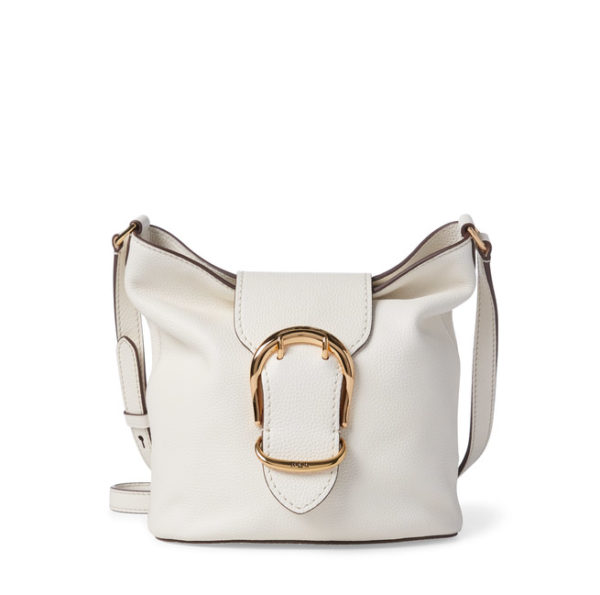 RALPH LAUREN LEATHER BAG 431730273-004 CREAM