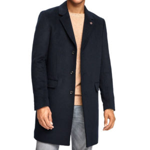 SCOTH & SODA ICON OF SCOTCH COAT 151987 0093-DARK BLUE