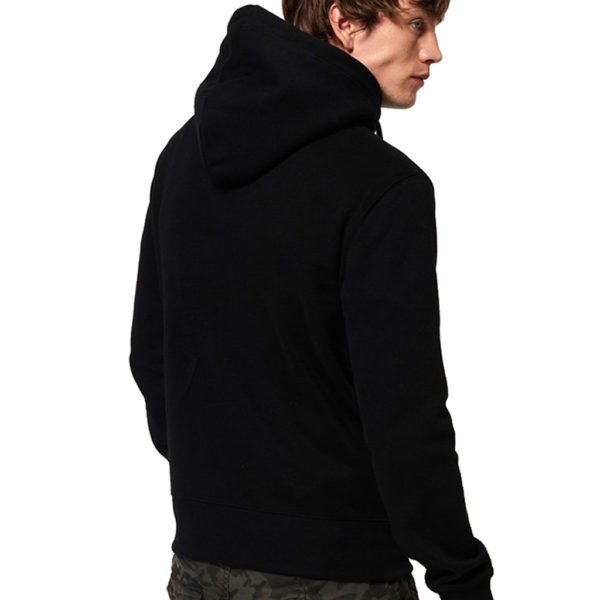 SUPERDRY URBAN ATHLETIC HOOD M2000002A 02A-BLACK