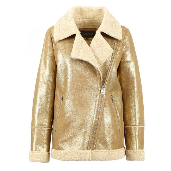 OAKWOOD COMMANDER JACKET 63487-561 GOLD