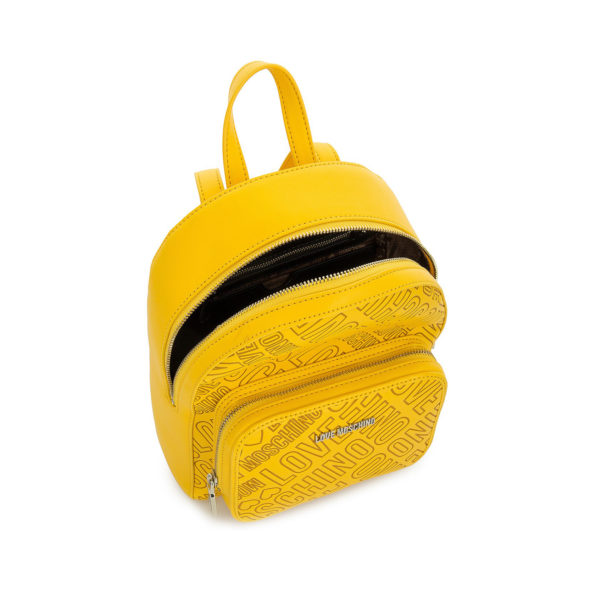 MOSCHINO LOVE BACKPACK JC4028PP13LC0400 MUSTARD