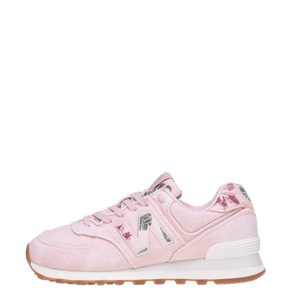 NEW BALANCE SNEAKERS WL574WOR-PINK