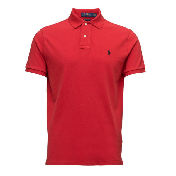 POLO RALPH LAUREN SHORT SLEEVE POLO 710666998003-RED