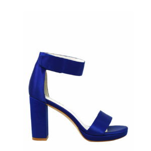 JEFFREY CAMPBELL LINDSAY PL SD ANKLE STRAP HEELED SANDALS 0101001856 BLUE