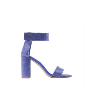 JEFFREY CAMPBELL LINDSAY JS HEELED SANDALS 0101002494 BLUE