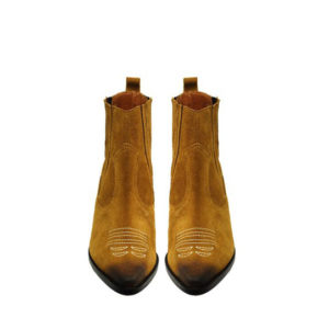 FAVELA ANKLE BOOTS 0116000669-BROWN