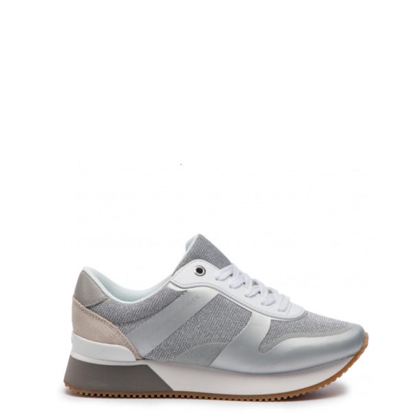 TOMMY HILFIGER SNEAKERS FW0FW03772-000 SILVER