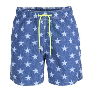 MC2 SWIM SHORTS LONG GUSTAVIA STARLIGHT STRL6 BLUE