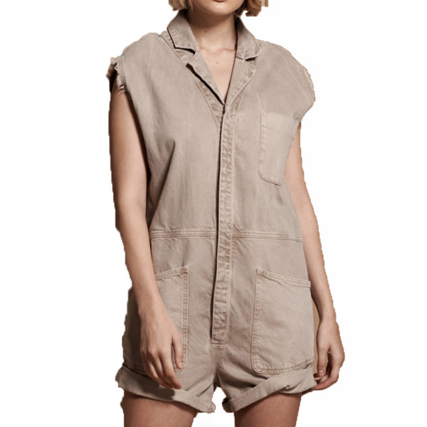 ONE TEASPOON SAFARI BANDIT JUMPSUIT 23064 BEIGE
