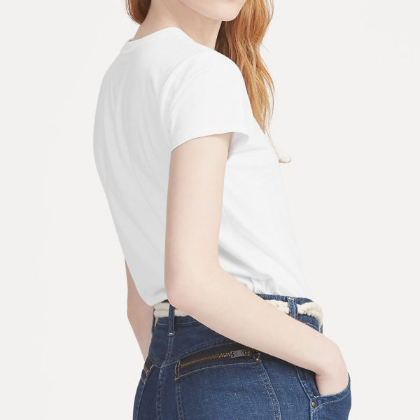 RALPH LAUREN T-SHIRT 211734144-001 WHITE