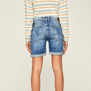 PEPE JEANS DENIM SHORTS PL800493MF5-000 POPPY