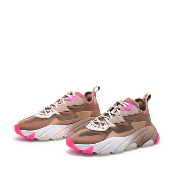 ASH ECLIPSE SHOES 130148-004 BEIGE / PINK / WHITE