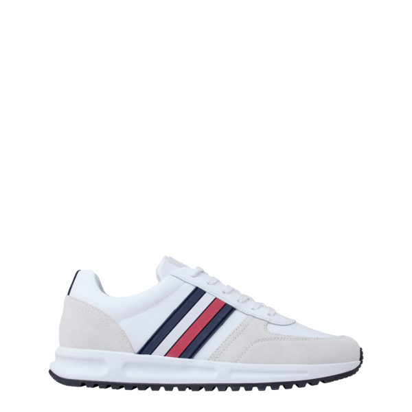 TOMMY HILFIGER SHOES FM0FM02662-YBS WHITE