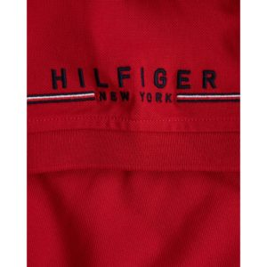 TOMMY HILFIGER POLO MW0MW13096-XLG RED