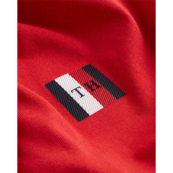 TOMMY HILFIGER T-SHIRT MW0MW13327-XLG RED