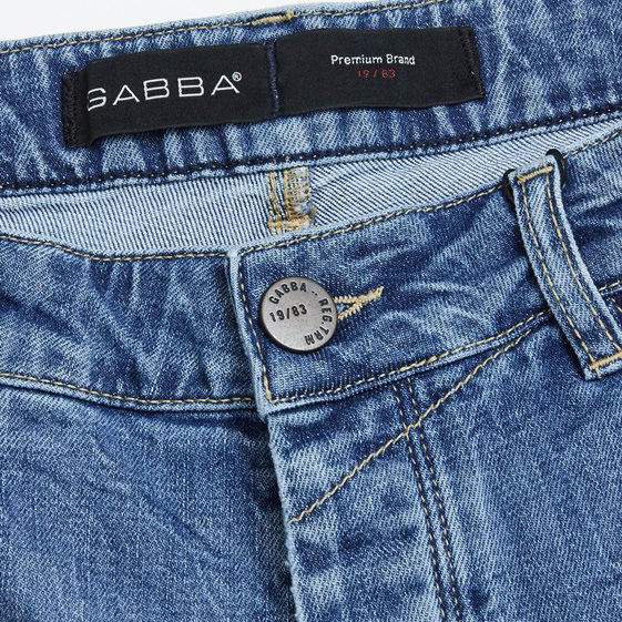 GABBA  JASON K1819 LT SHORTS P4700-DENIM