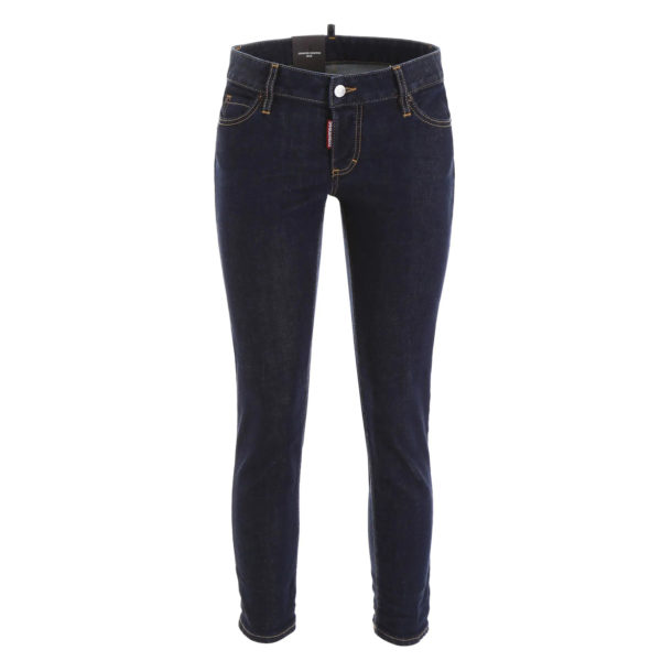 DSQUARED2 JENNIFER CROPPED JEAN S75LB0228 S30595 470-DENIM