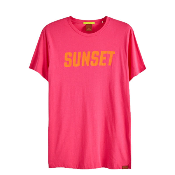 SCOTCH AND SODA T-SHIRT 148997 1311-FUSCHIA