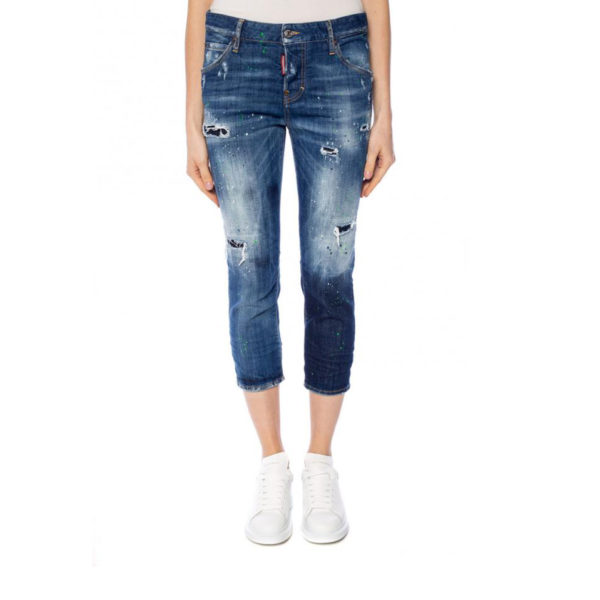 DSQUARED2 COOL GIRL CROPPED JEAN S75LB0092S30342 470