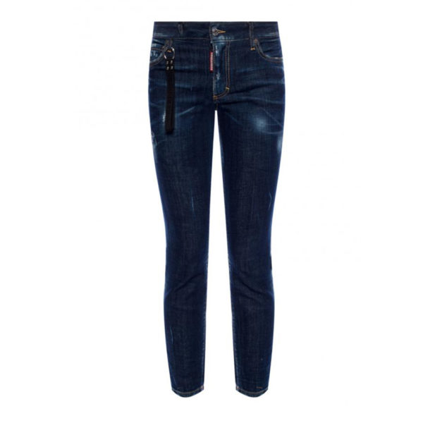 DSQUARED2 RUNWAY STRAIGHT CROPPED JEAN S75LB0120 S30342 470