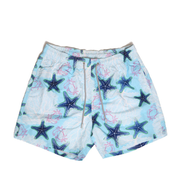 MC SWIM SHORTS GUS0001-CORS31 WHITE / BLUE
