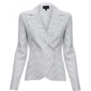 EMPORIO ARMANI JACKET 3H2GT62M33Z-0100 OPTIC WHITE
