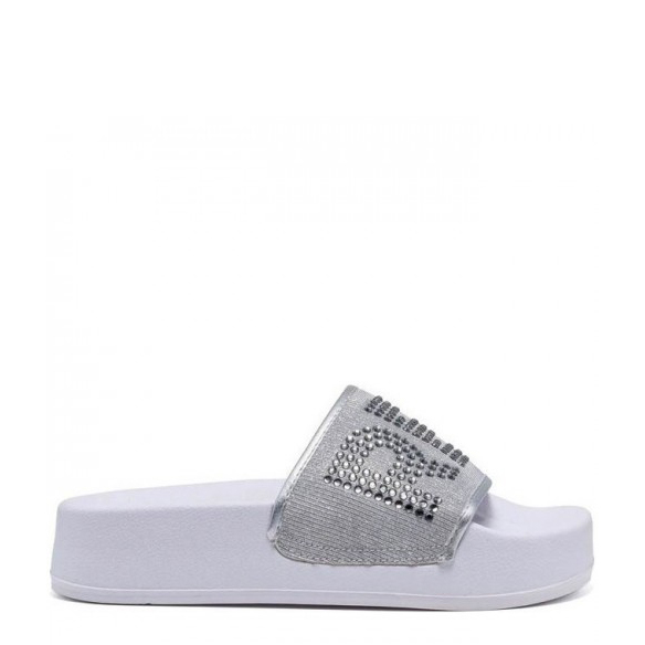 REPLAY SANDALS RF1H0002T-0051 SILVER BLACK