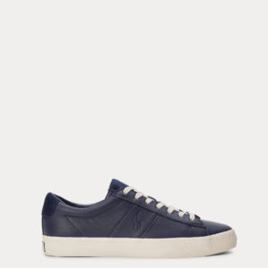 POLO RALPH LAUREN SAYER LEATHER SPORTS 816786745-002 NAVY