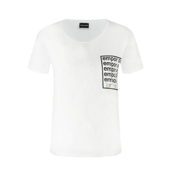 EMPORIO ARMANI T-SHIRT 3H2T7A 2JSYZ 0100 WHITE