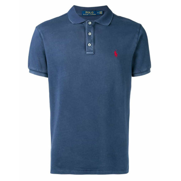 POLO RALPH LAUREN SLIM FIT POLO 710660897001-NAVY