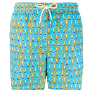 MC2 SWIM SHORTS BEER BOTTLE 31-LIGHT BLUE