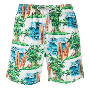 MC2 SWIM SHORTS HAWAIIAN DREAM 01-MULTICOLOR