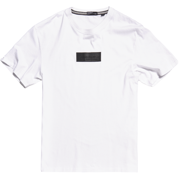 SUPERDRY SURPLUS GOODS BOXY GRAPHIC TEE T-SHIRT M1010112A-01C-OPTIC