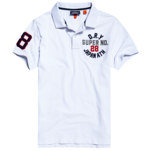 SUPERDRY D1 CLASSIC SUPERSTATE S/S ΜΠΛΟΥΖΑ POLO M1110008A-01C-OPTIC