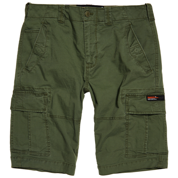 SUPERDRY  CORE CARGO SHORTS M7110015A-L1L-DRAFT OLIVE