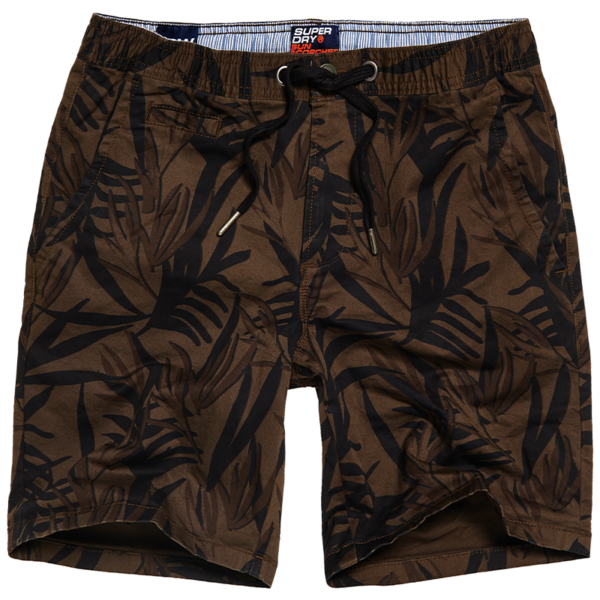 SUPERDRY SUNSCORCHED CHINO SHORT M7110017A-T5S-OLIVE HAWAIIAN