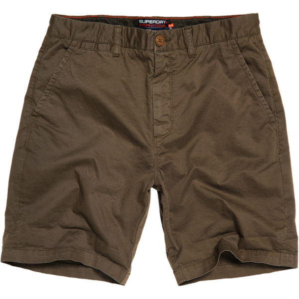 SUPERDRY INTERNATIONAL CHINO SHORT M7110018A-GKW-DUSTY OLIVE