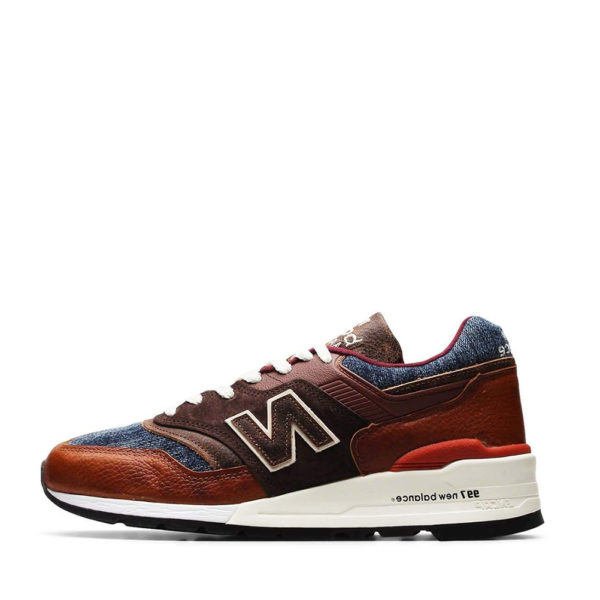 NEW BALANCE SNEAKERS M997S0C-BROWN