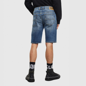 DIESEL THOSHORT SHORT PANTS DENIM 00SD3U-0JAXH-01-MEDIUM BLUE